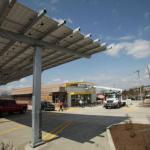 New McDonalds get EcoElightened including electronic car charging station