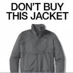 Patagonia - NY Times ad encourages intelligent consumerism